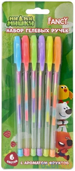Набор гелевых ручек Action! РАДУГА FGP200/6 6 шт разноцветный фото