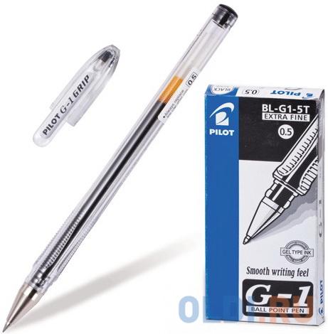 Фото - Ручка гелевая PILOT G-1, корпус прозрачный, узел 0,5 мм, линия 0,3 мм, черная, BL-G1-5T ручка гелевая черная bl p50 b pilot пилот
