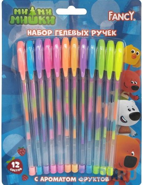 Набор гелевых ручек Action! РАДУГА FGP200/12 12 шт разноцветный action набор гелевых ручек action 10 цветов