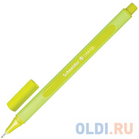 Капиллярная ручка капилярный SCHNEIDER Line-Up зеленое яблоко 0.4 мм