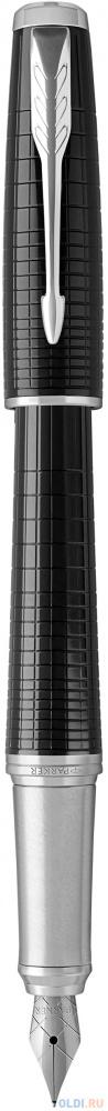 Перьевая ручка Parker Urban Premium F312 Ebony Metal CT синий F 1931613 фото
