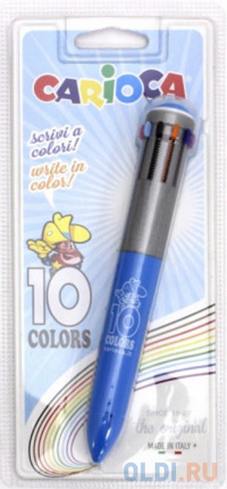 Ручка шариковая THE ORIGINAL 10 цветов, в блистере фото