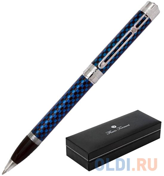 Фото - Шариковая ручка поворотная Flavio Ferrucci Quadretto синий FF-BP1811 FF-BP1811 ff 300