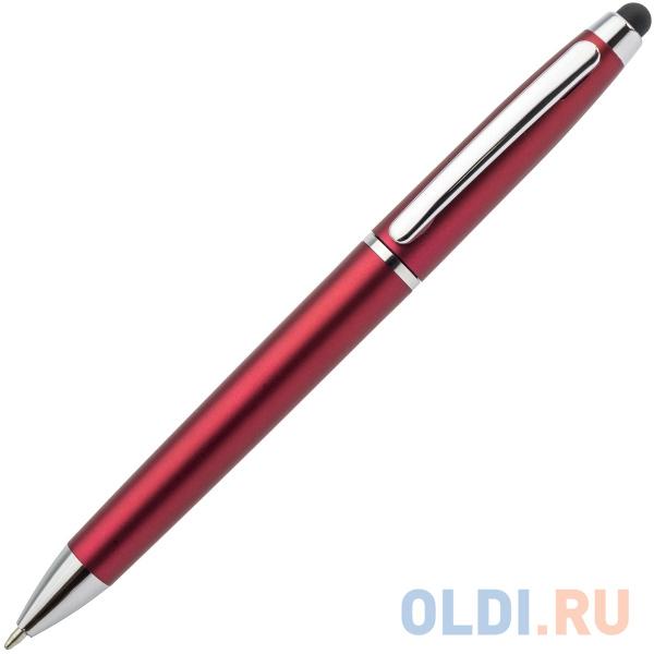 Шариковая ручка автоматическая Index IMWT1310/RD синий 1 мм со стилусом