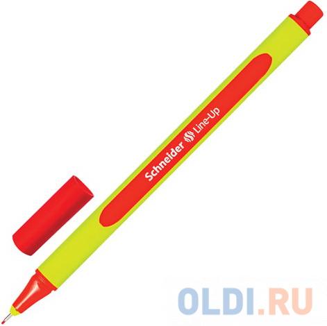 Ручка капиллярная SCHNEIDER (Германия) Line-Up, АЛАЯ, трехгранная, линия письма 0,4 мм, 191002