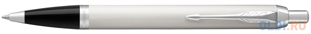 Шариковая ручка автоматическая Parker IM Core K321 White CT синий M 1931675