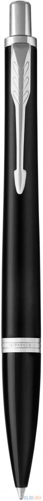 Шариковая ручка автоматическая Parker Urban Core K309 Muted Black CT синий M 1931575 фото