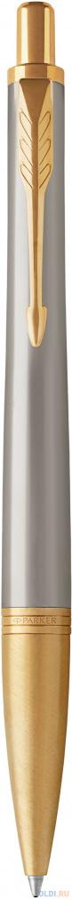 Шариковая ручка автоматическая Parker Urban Premium K313 Aureate Powder GT синий M 1931573 фото