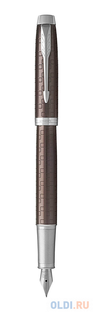 Перьевая ручка Parker IM Premium F324 Brown CT синий 0.8 мм перо F 1931676 3d ручка carcam 668 f brown