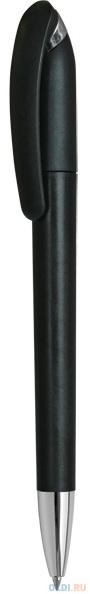 Авторучка шариковая APPLICA, пластиковый корпус, поворотный механизм, 0,5 мм, синяя, корпус черный IBP302/BK