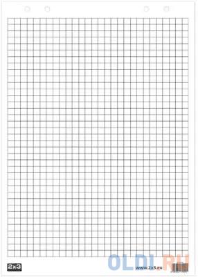 Блокнот для флипчарта 2х3 (Дважды три Польша) 30 листов клетка 58х83 см B01.
