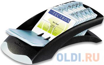 Визитница Durable Visifix desk 200 шт черный 241301 фото