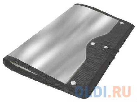 Визитница Index ICH45/SL 120 шт серебристый