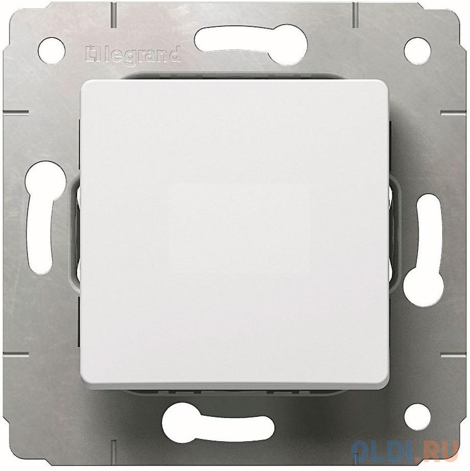 Выключатель Legrand Cariva 1-клавишный белый 773656.