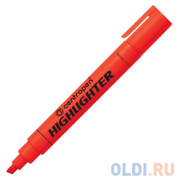 Маркер флуоресцентный Centropen 8852/1К красный 8852/1К фото