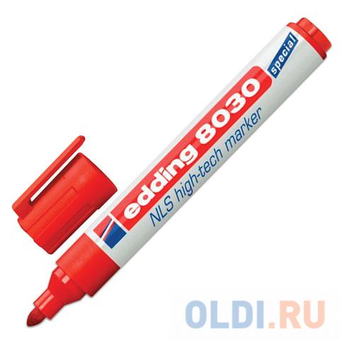 Маркер промышленный Edding E-8030/2 1,5-3 мм красный фото