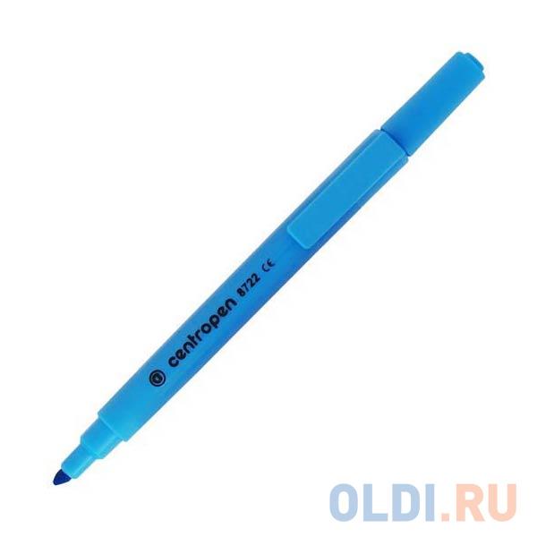 Маркер флуоресцентный Centropen 8722/1С синий