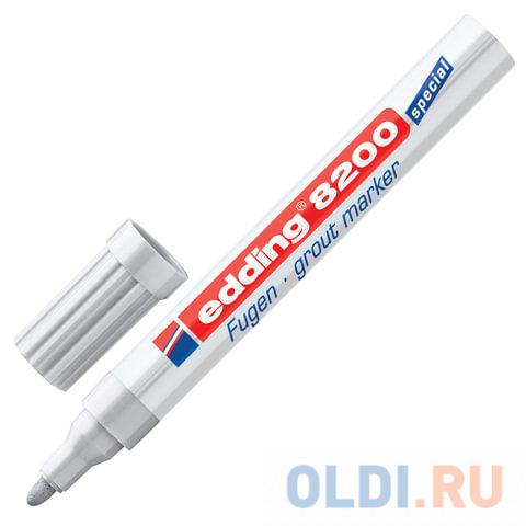 Маркер для затирки плиточных швов Edding E-8200/26 2-4 мм серебристый серый фото