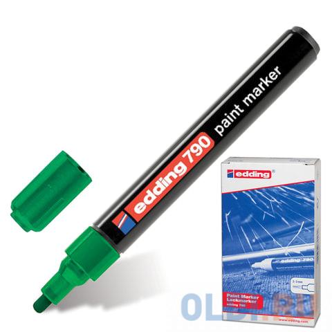 Маркер-краска лаковый Edding E-790/4 2, 3, 4 мм зеленый фото