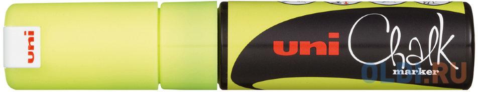 Маркер для окон и стекла UNI PWE-8K 8 мм желтый alpine pwe v80 page 8