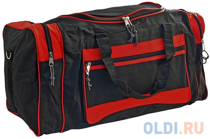 Сумка спортивная,разм.67х30х30 см, ассорти 2 цвета. черно-красный,черно-синий цвет ABS3001 фото