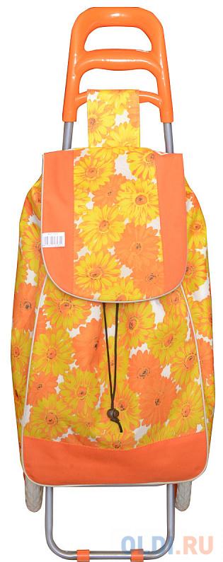 Сумка-тележка Универсальная Action! AST1018 полиэстер желтый оранжевый рисунок AST1018 фото