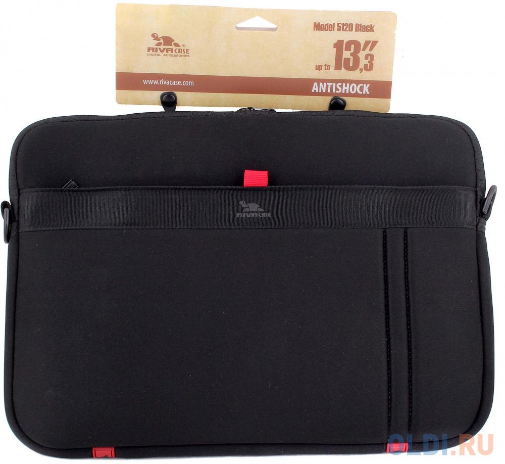 Сумка для ноутбука MacBook Pro 13 Riva 5120 полиэстер черный