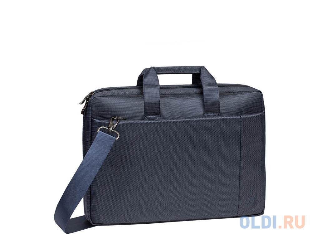 """Сумка для ноутбука 15"""" Riva 8231 полиэстер синий"""