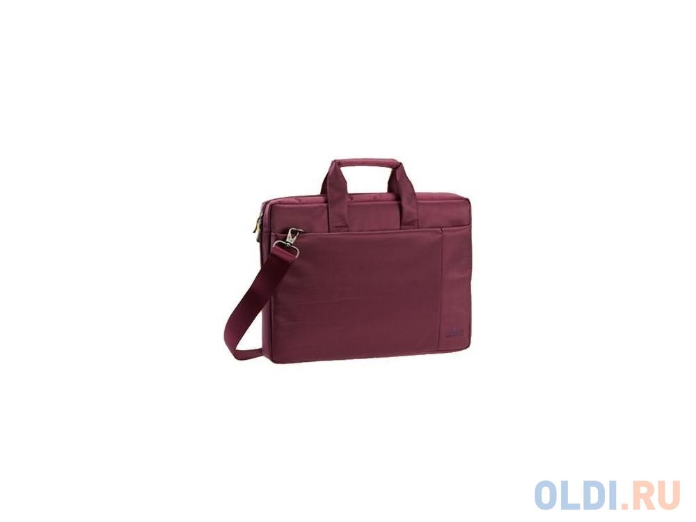 "Сумка для ноутбука 15"" Riva 8231 полиэстер пурпурный"