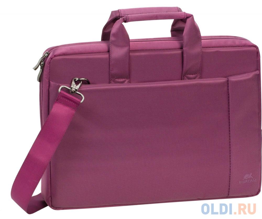 "Сумка для ноутбука 13"" Riva 8221 полиэстер пурпурный"