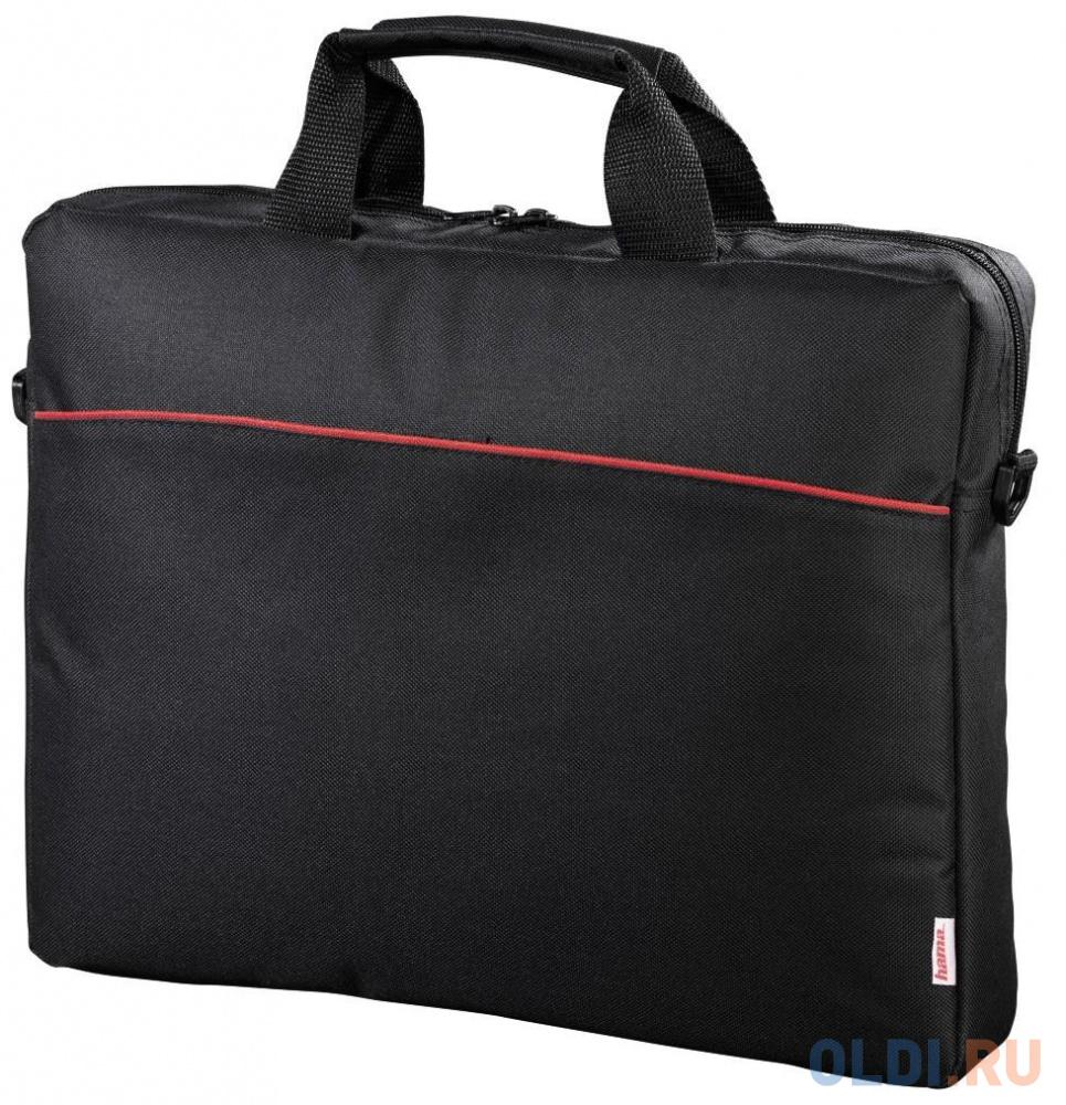 """Сумка для ноутбука 17.3"""" Hama Tortuga полиэстер черный 101240"""