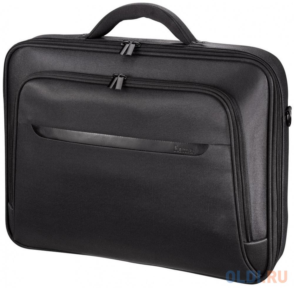 """Сумка для ноутбука 15.6"""" HAMA Miami Life полиэстер черный 00101218/101758"""
