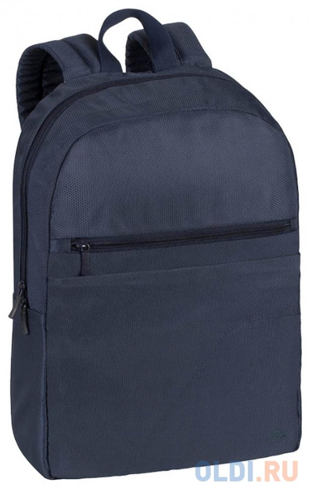 """Рюкзак для ноутбука 15.6"""" Riva 8065 полиэстер синий"""