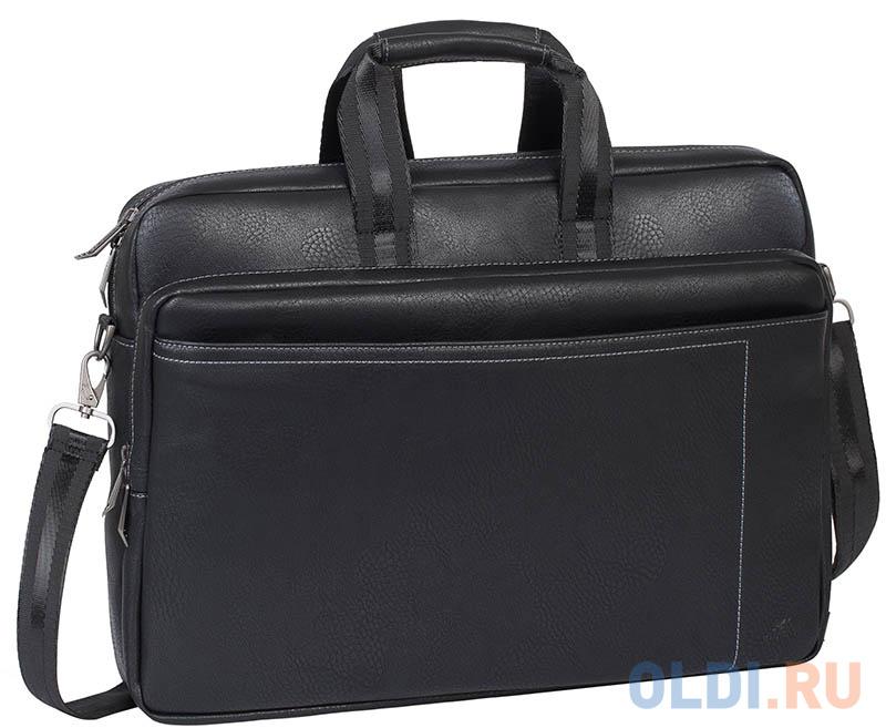 Фото - Сумка для ноутбука 16 Riva 8940 PU искусственная кожа черный сумка для ноутбука 16 riva 8290 полиэстер черный
