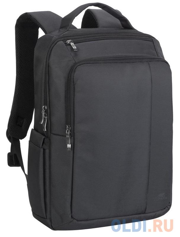 """Рюкзак для ноутбука 15.6"""" Riva 8262 полиэстер черный"""