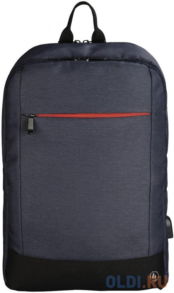 """Рюкзак для ноутбука 15.6"""" HAMA """"Manchester"""" полиэстер синий 00101826"""