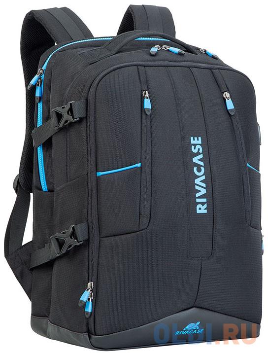 Рюкзак для ноутбука 17.3 Riva 7860 полиэстер черный