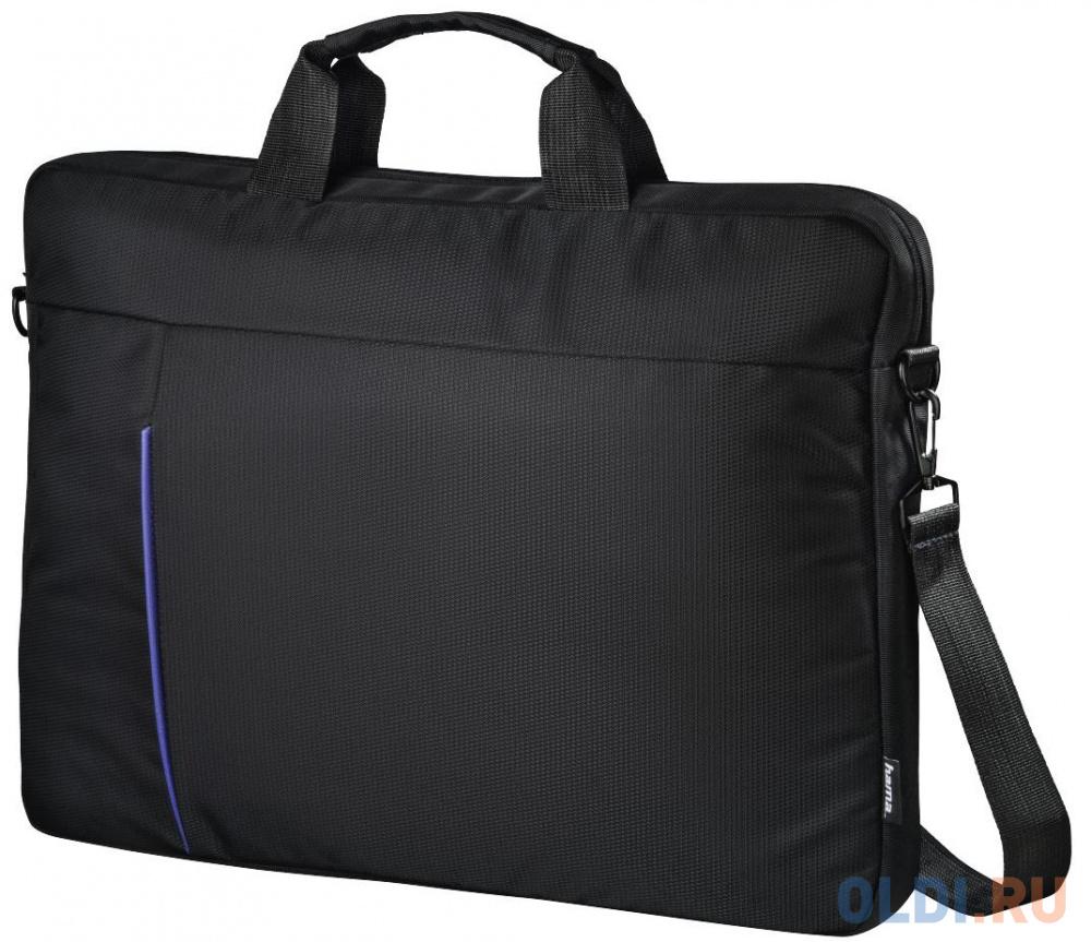 """Сумка для ноутбука 15.6"""" HAMA """"Cape Town"""" полиэстер черный 00101907"""