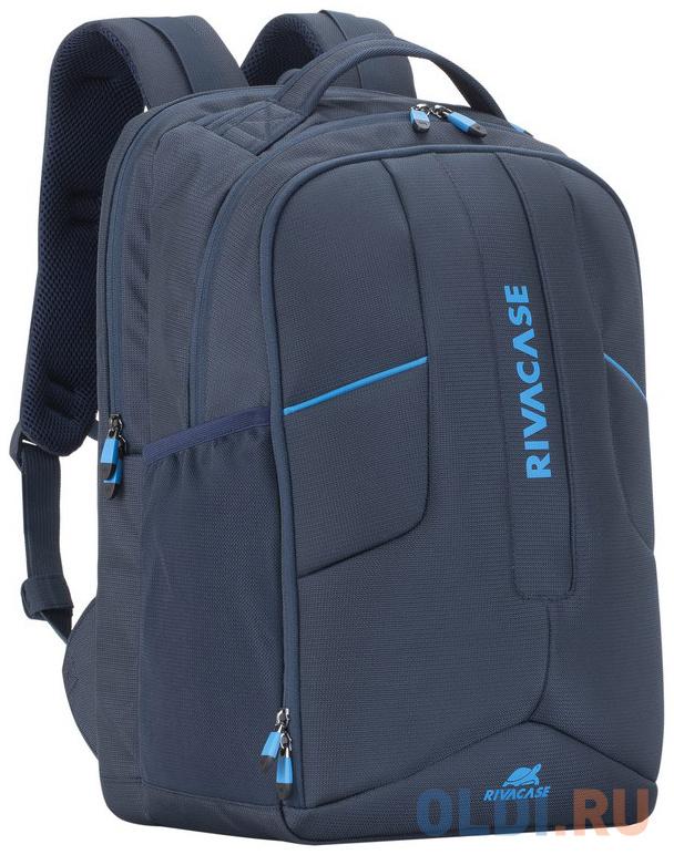 Рюкзак для ноутбука 17.3 Riva 7861 полиэстер синий
