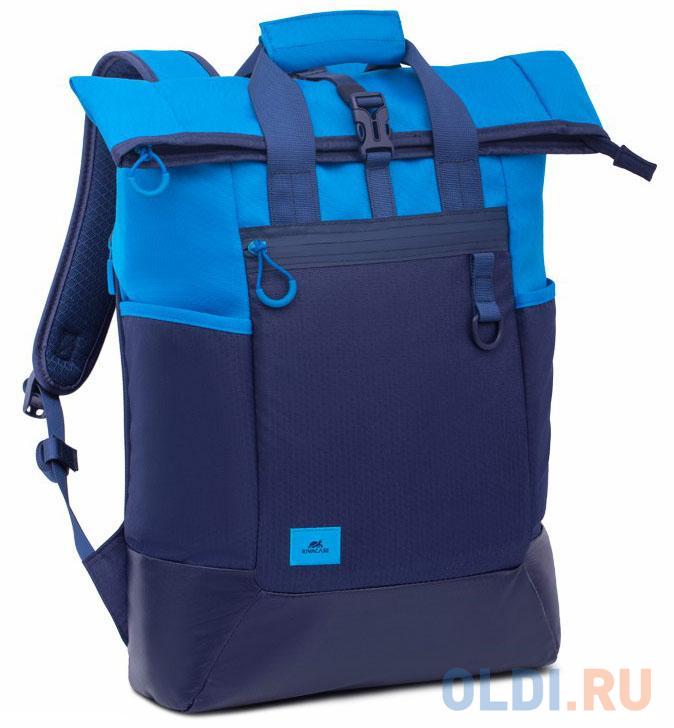 "Рюкзак для ноутбука 15.6"" Riva 5321 полиэстер полиуретан синий"
