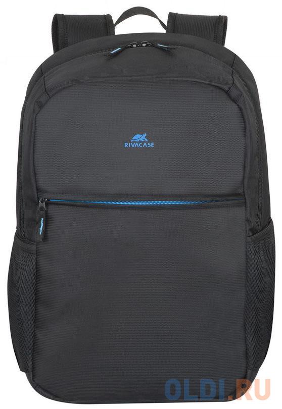 """Рюкзак для ноутбука 17.3"""" Riva 8069 полиэстер черный"""