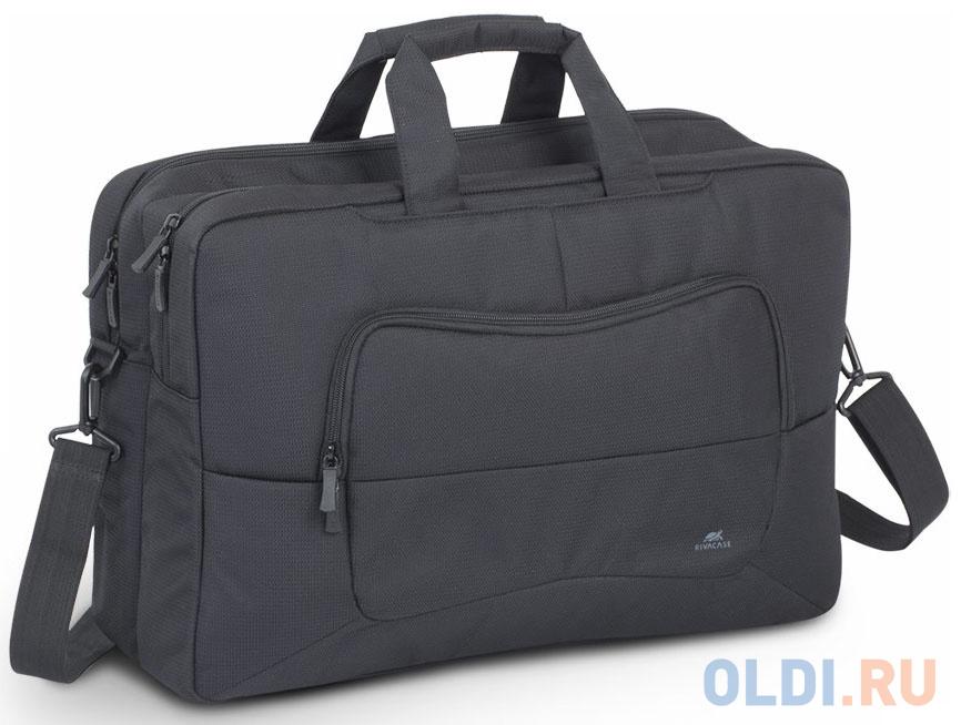 Фото - Сумка для ноутбука 17.3 Riva 8455 полиэстер черный сумка для ноутбука 16 riva 8290 полиэстер черный