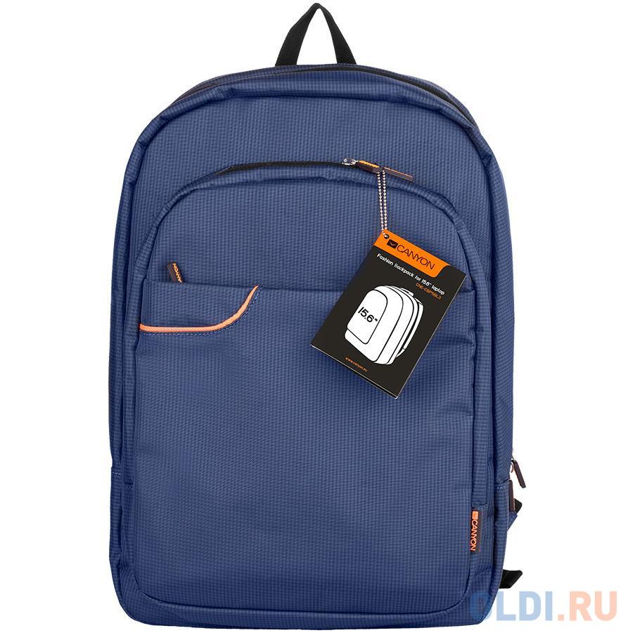 "Рюкзак для ноутбука 15.6"" Canyon - нейлон полиэстер синий"