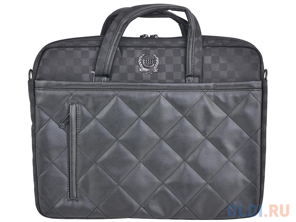 Сумка для ноутбука 15.6 Continent CC-036 Black полиэстр черный сумка 15 6 inch continent cc 211 black