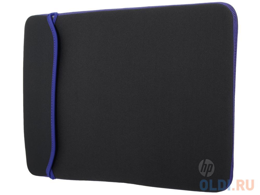 Сумка для ноутбука 15.6 HP Chroma Sleeve черный синий V5C31AA hp 15 da0052ur синий