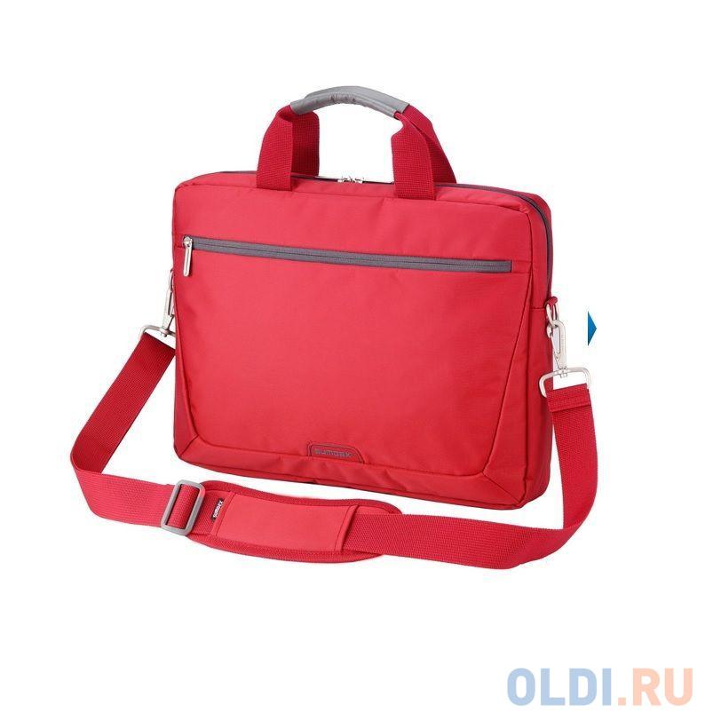 """Сумка для ноутбука 15.6"""" Sumdex PON-111RD нейлон красный"""