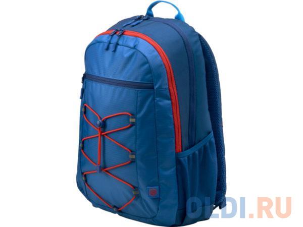 Рюкзак для ноутбука 15.6 HP Active Backpack синтетика синий красный 1MR61AA hp 15 da0052ur синий