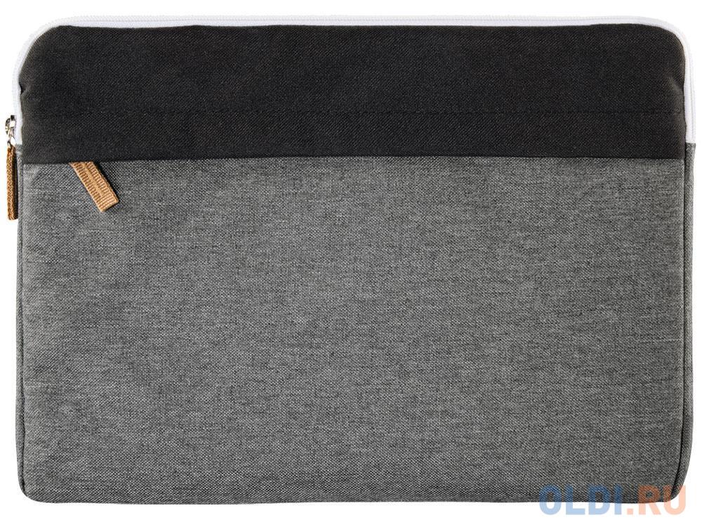 """Чехол для ноутбука 13.3"""" HAMA Florence полиэстер черный/серый 00101566"""