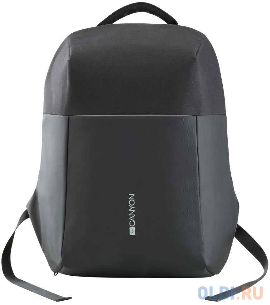 """Рюкзак Anti-theft backpack for 15.6""""-17"""" laptop, material 900D glued polyester and 600D polyester, black, USB cable length0.6M, 400x210x480mm, 1kg,capacity 20L"""