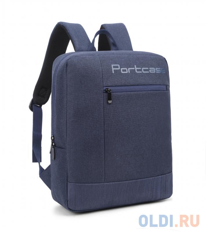 "Рюкзак для ноутбука 15.6"" PortCase KBP-132BU полиэстер синий"
